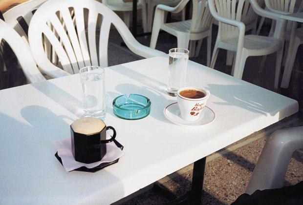Ingo Duennebier - coffee at Hortiatis