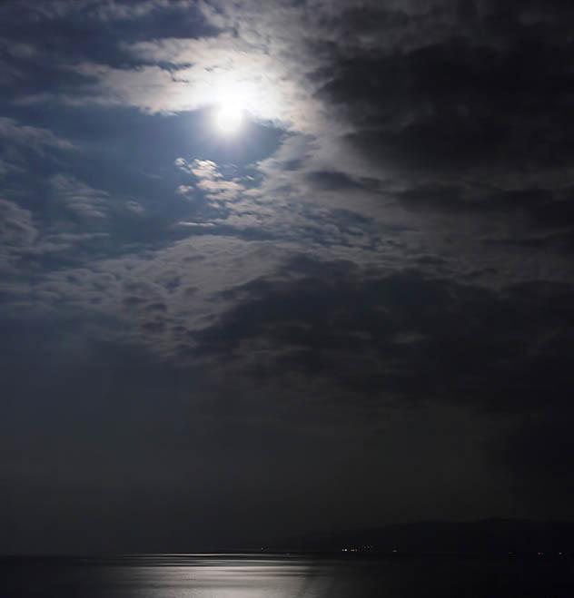Mondschein in Pyrgadikia