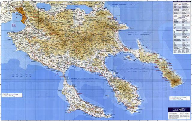 Chalkidiki map